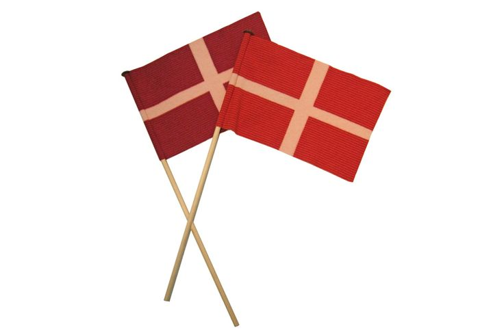 Danish flags by Line Dyrholm - 175 Danish kroner for 1