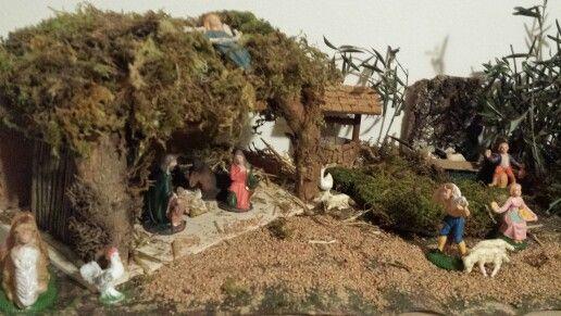 Jesus home - Stalla Gesu' presepe