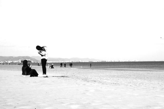 3° premio-Descubre la Valencia autentica-Valencia 2011  La Playa de la Malvarosa  Foto di: Lucia Zanetti