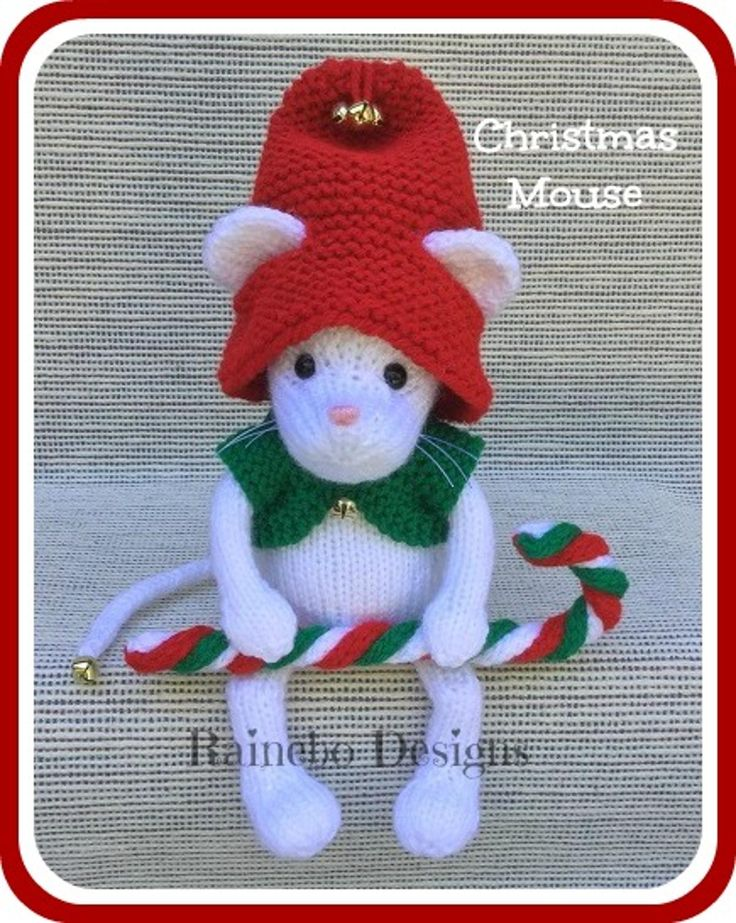 Knitting Patterns For Christmas Mice : 55 best images about Knit Patterns - Adorable Animals & Other Things on P...