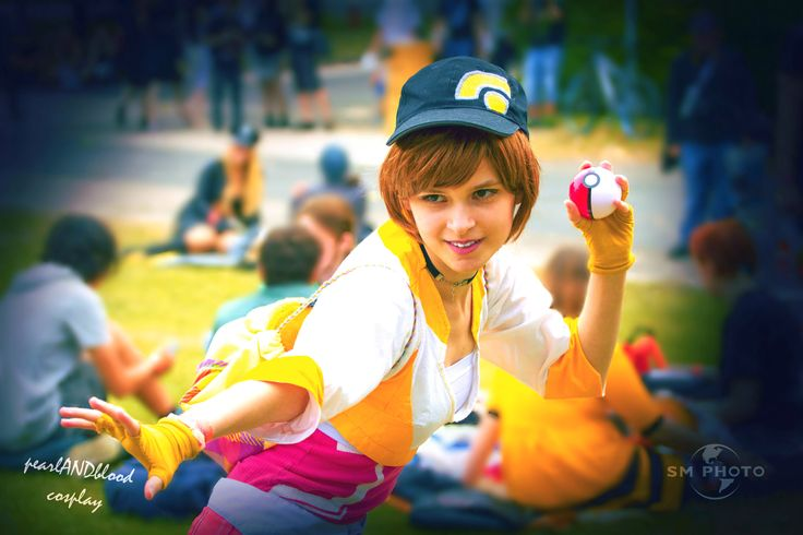 Pokemon GO Trainer cosplay: Cosplayer, makeup, photo editor: pearlANDblood. Photographer: SM Photo. https://www.facebook.com/smphotoorig/ #pokemon #pokemongo #trainer #team #instinct #teaminsinct #cosplay #psyduck #app #application #fun #virtualreality