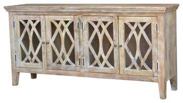 Azalea Sideboard 4 Door, Dogwood mediterranean buffets and sideboards