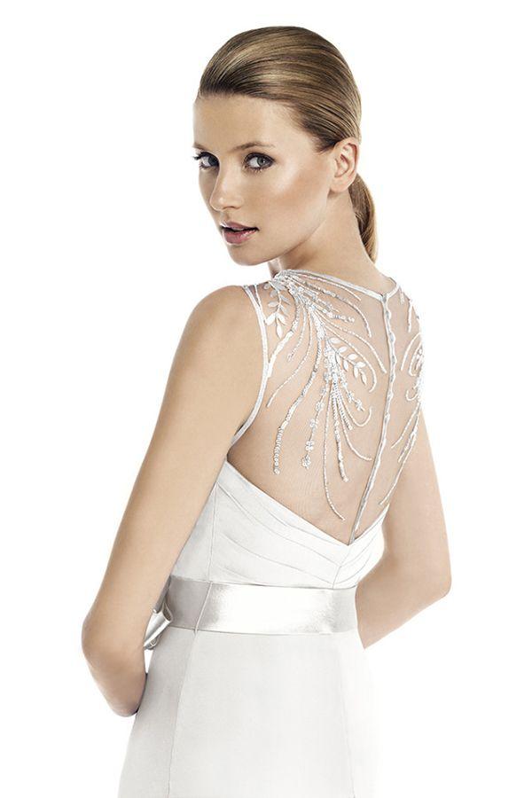 Vestidos de noiva de Pronovias para casamentos civis. #casamento #vestidodenoiva #vestidocurto #noiva #Pronovias