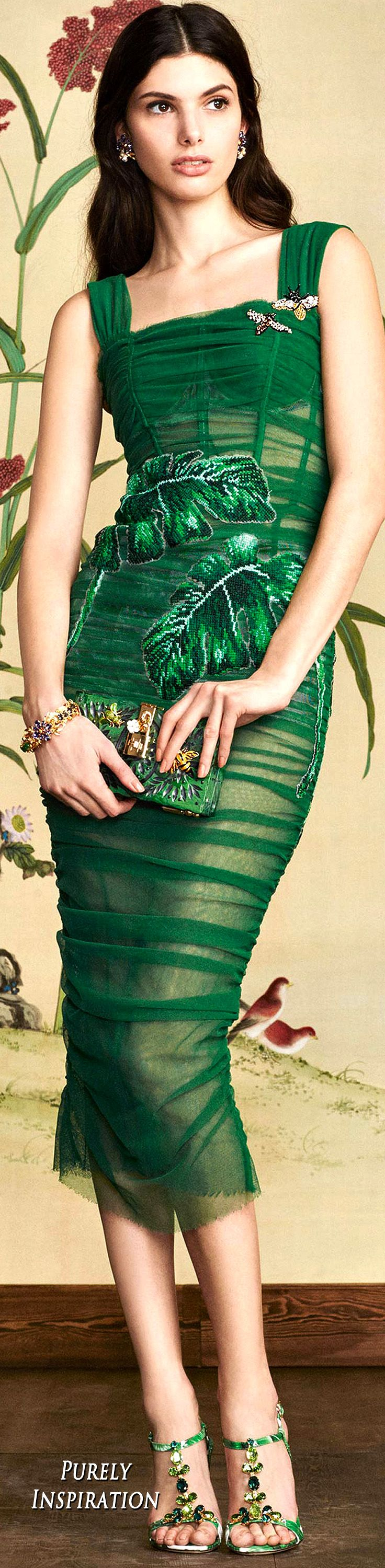 Dolce & Gabbana Botanical Garden Collection FW2016 Women's Fashion RTW | Purely Inspiration