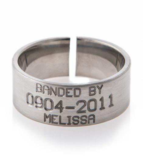 duck band wedding ring