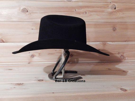 Estante de sombrero de vaquero de herradura por LizzyandMe en Etsy