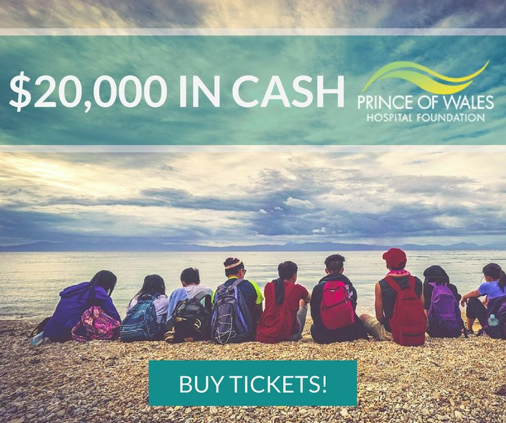 You can now WIN $20,000 in CASH!! Buy tickets now at Aspire Charity Gaming! https://aspirecharitygaming.com/prince-of-wales-hospital-f…/ #win #charity #lottery