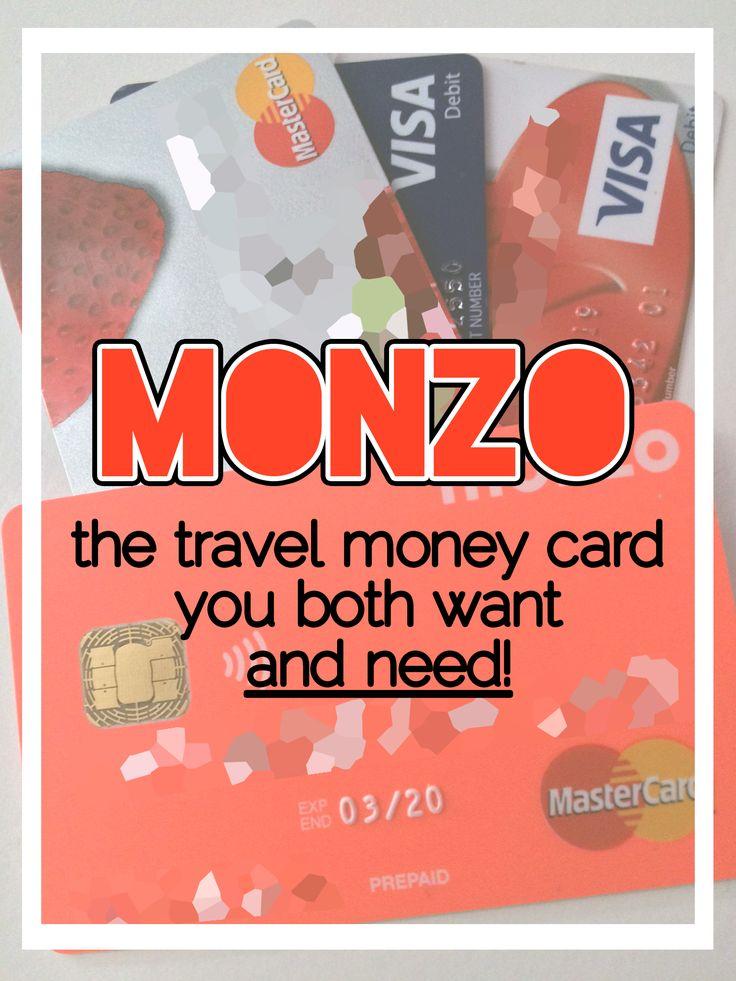 Monzo prepaid mastercard