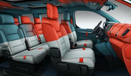 concept Citroën SpaceTourer Hyphen 2016 vue intérieure