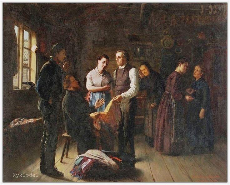 Arvid Liljelund (1844-1899) Laukkuryssa - Finland