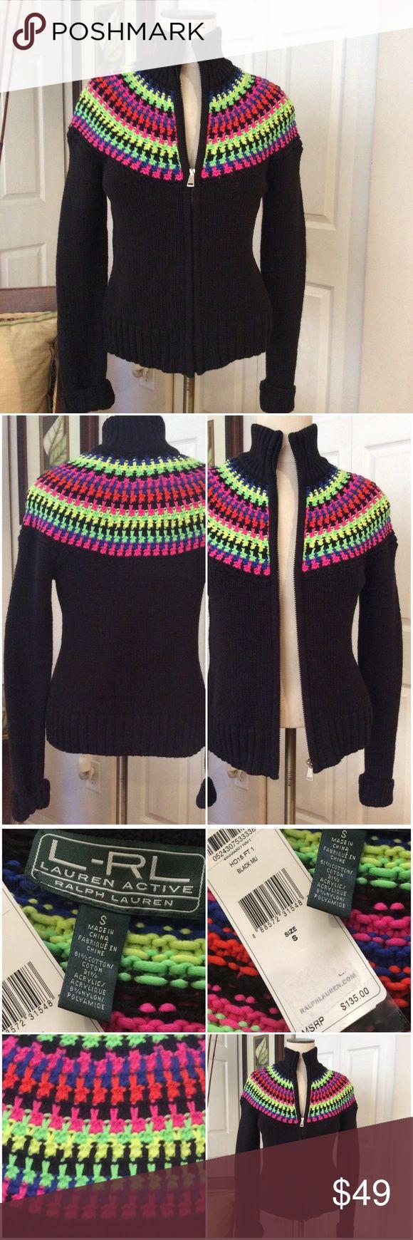Gorgeous Multi Color Cardigan  by LAUREN No Flaws never Worn! Lauren Ralph Lauren Sweaters Cardigans