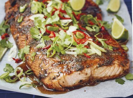 Deník Dity P. - Marinovaný grilovaný losos