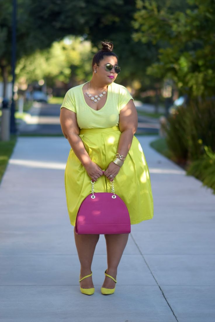 GarnerStyle | The Curvy Girl Guide: Lime Time