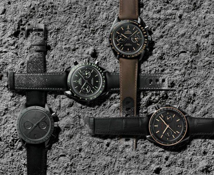 Basel 2015 - Omega Speedmaster Moonwatch Dark Side Of The Moon
