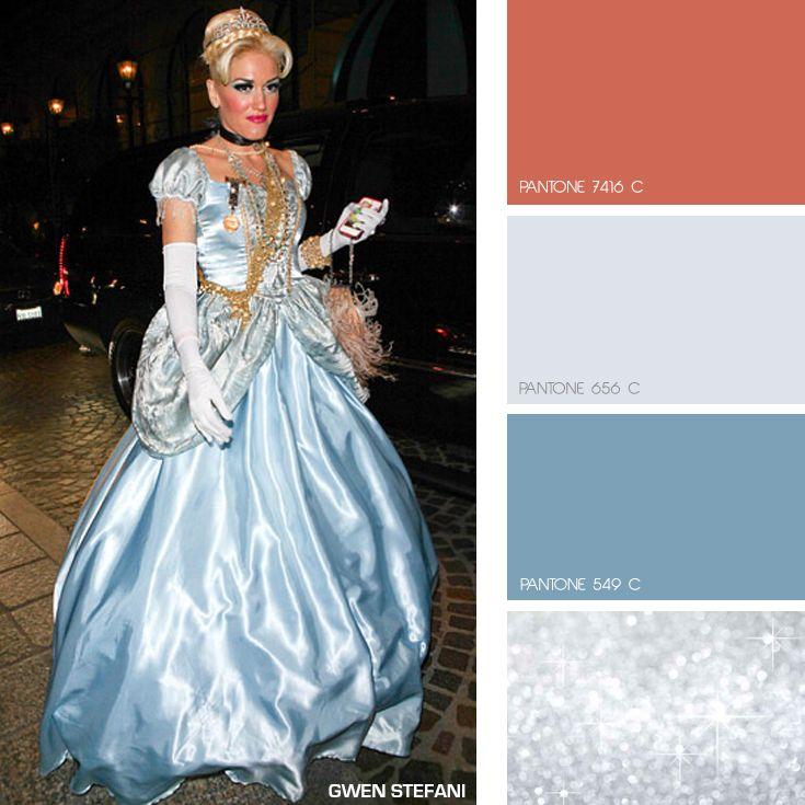 Our Fave Celeb Fashionista Gwen Stefani Went All Out In This Fab Cinderella Costume