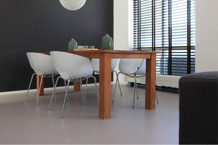 Betonlook gietvloer de vloerentrend van 2016 woon for Interieur ideeen kleuren