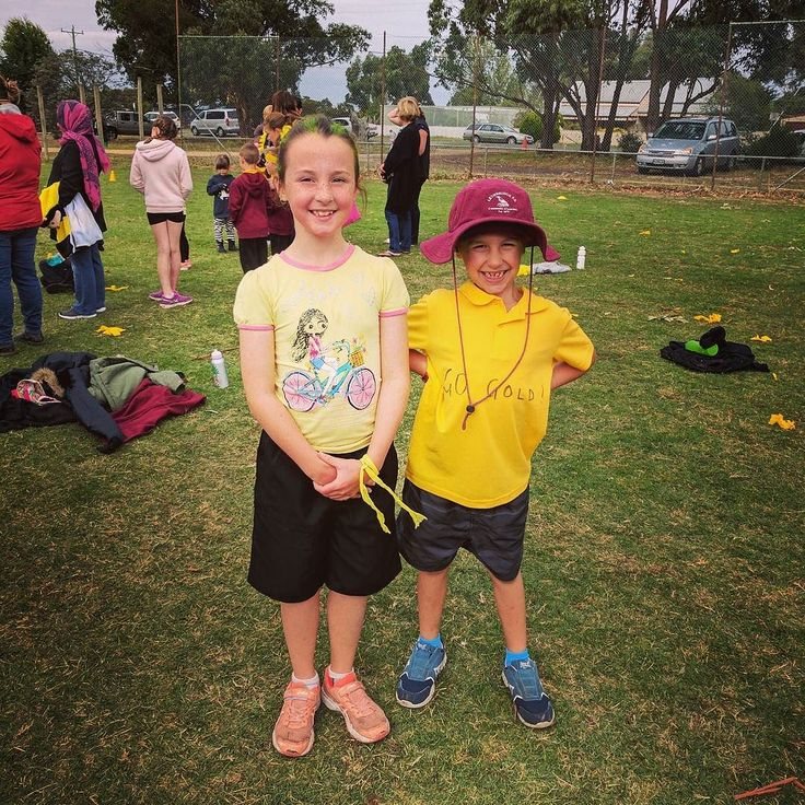 Winners are grinners - 2nd place & 4th place in School Cross Country