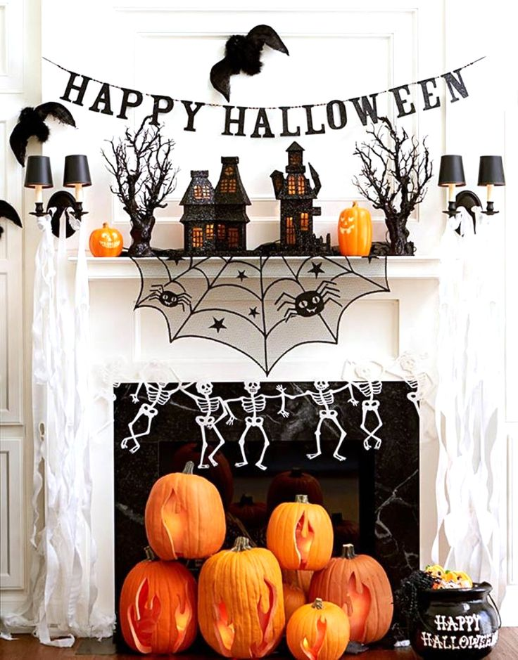 705 best HALLOWEEN images on Pinterest Halloween 2017, Halloween - ways to decorate for halloween
