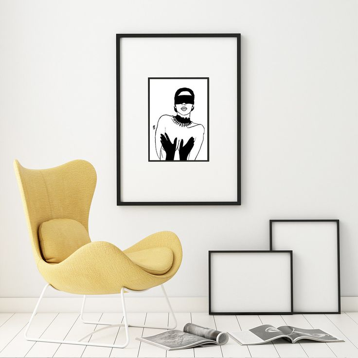 Fetish: Sexy art. Erotic art. Hand drawing. Black and white ink drawing. Nude drawings for decor. by FlaviaTotoli on Etsy