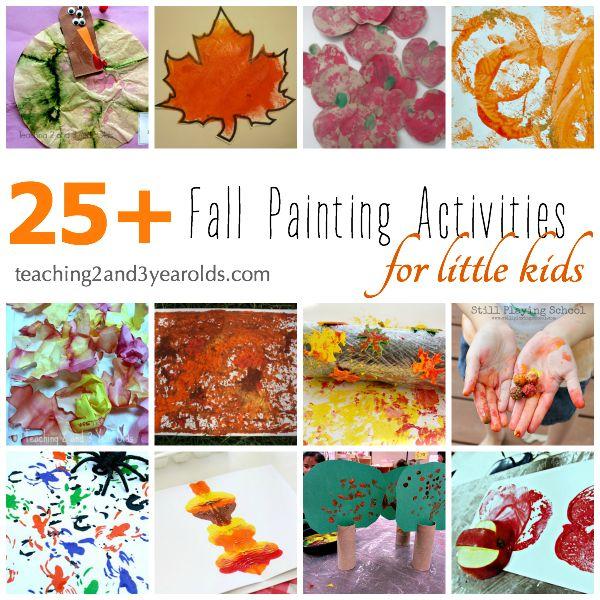 Wonderful Autumn Art Activities for Preschoolers