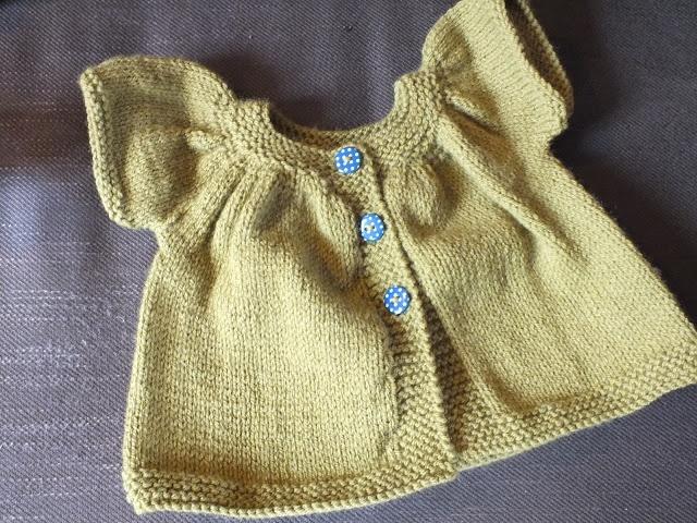 Gilet baby Kina kids tricot