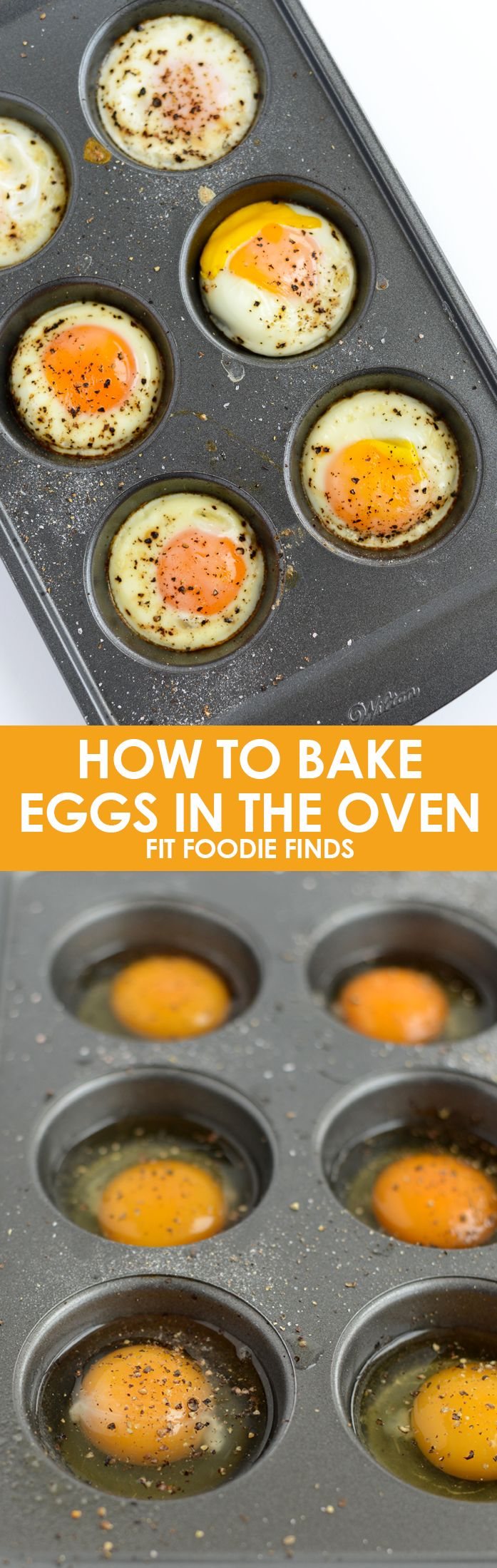 How to Bake Eggs in the Oven from Fiid Foodie Finds. I am intrigued!
