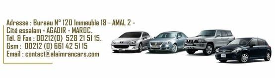 Al aimran cars - Location voiture Agadir Maroc