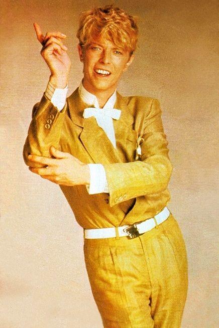 "nightspell: "" 1983 "" Dorky Prom Date Bowie? lol"