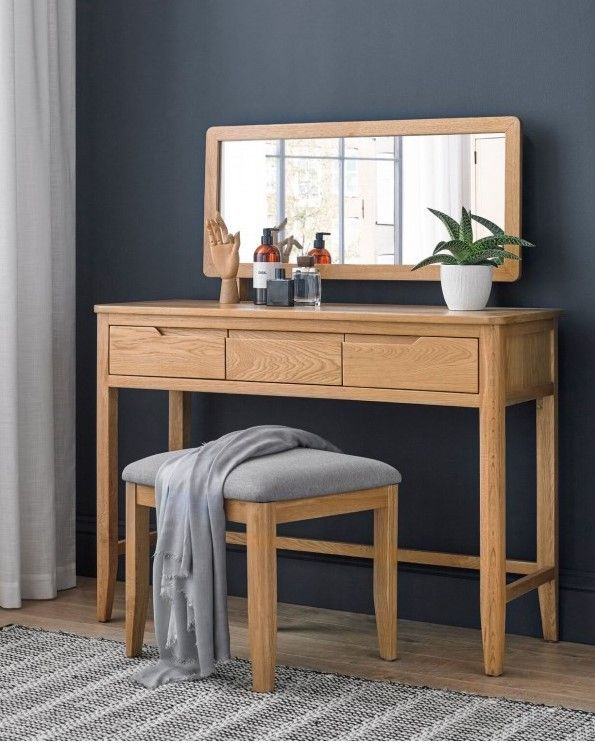 Abbey Oak Dressing Table Dressing Room Decor Oak Bedroom Furniture Dressing Table With Drawers
