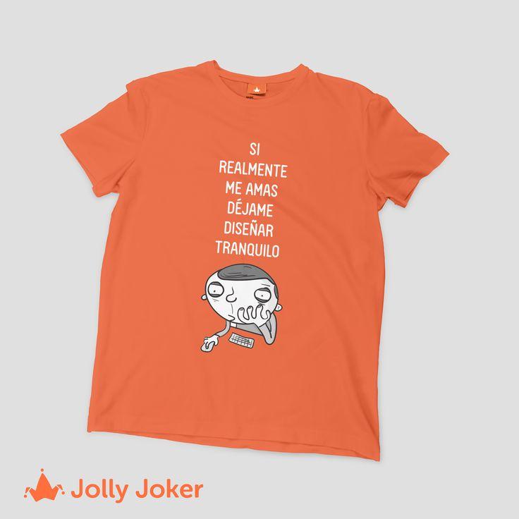 En Jolly Joker crea tus camisetas de diseñador gráfico como tu quieras, estampa camiseta para tu grupo de amigos de la U o del trabajo