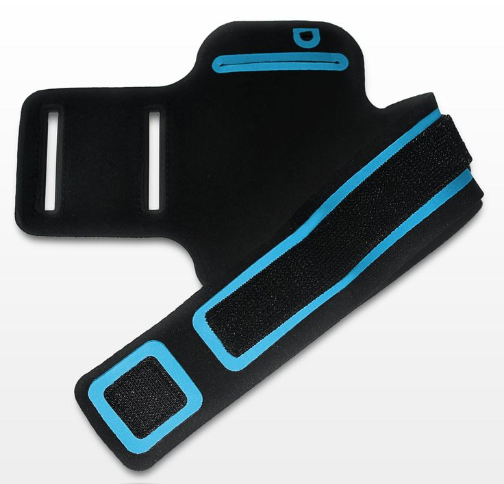 The outstanding feature of iPhone 5 Sports Armband is that it's water resistant. It's made from a light-weight neoprene fabric and has a strong Velcro strap with an inbuilt pocket for a key.