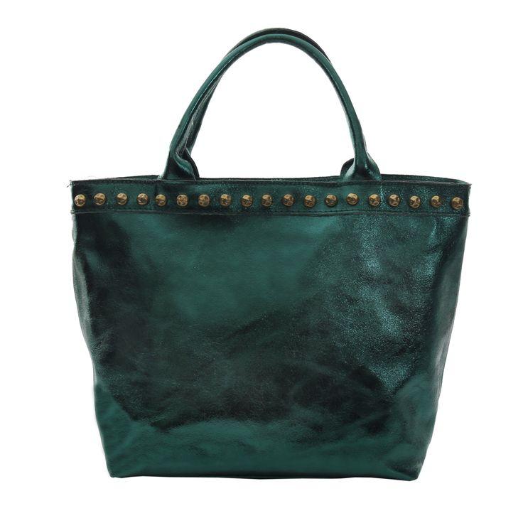 Marlafiji Jamaika Mettalic Green Italian leather shopper  Final Clearance www.marlafiji.com FREE SHIPPING WITH AUSTRALIA