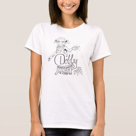 Harry Potter | Dobby Has No Master T-Shirt - tap to personalize and get yours