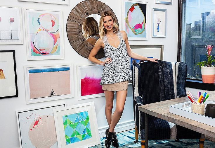 Whitney Port's Office Pictures | POPSUGAR Home