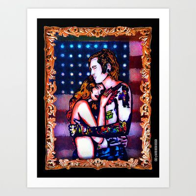 Born To Die Art Print by DRD † David Russo Design - $17.68