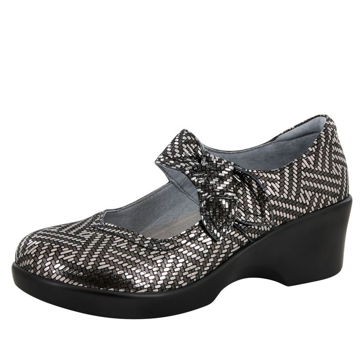 Alegria Womens Ella Mary Janes Indigo Dream