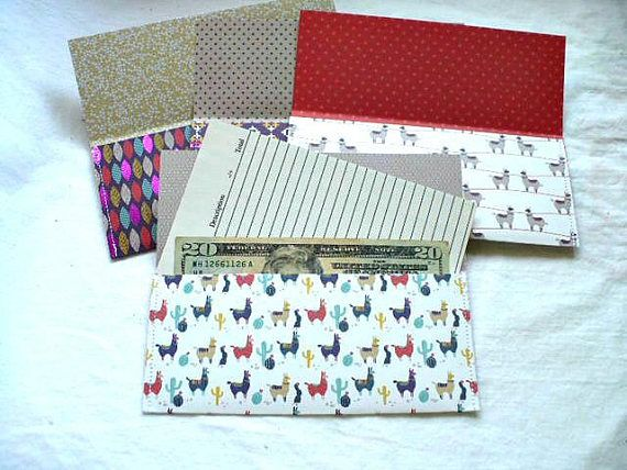 New! $6 for these cute Coupon Holder Envelopes Organizer, Llama and Woven Pattern, Receipt Envelope Pouch, Set of 4, Hand Stitched, 3.25 x 7 Inch, Grocery List  Pick up a set today while supplies last! www.etsy.com/shop/marketsofsunshine