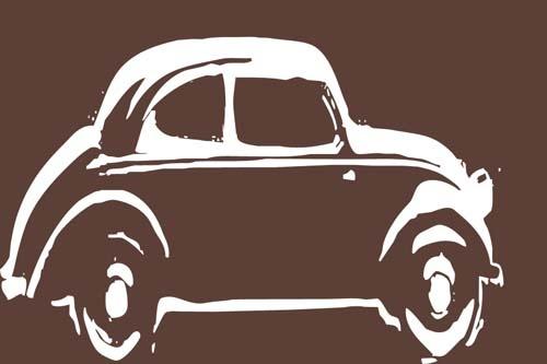 Car Silhouette - Volkswagen Beetle Bug | VW Bugs ...