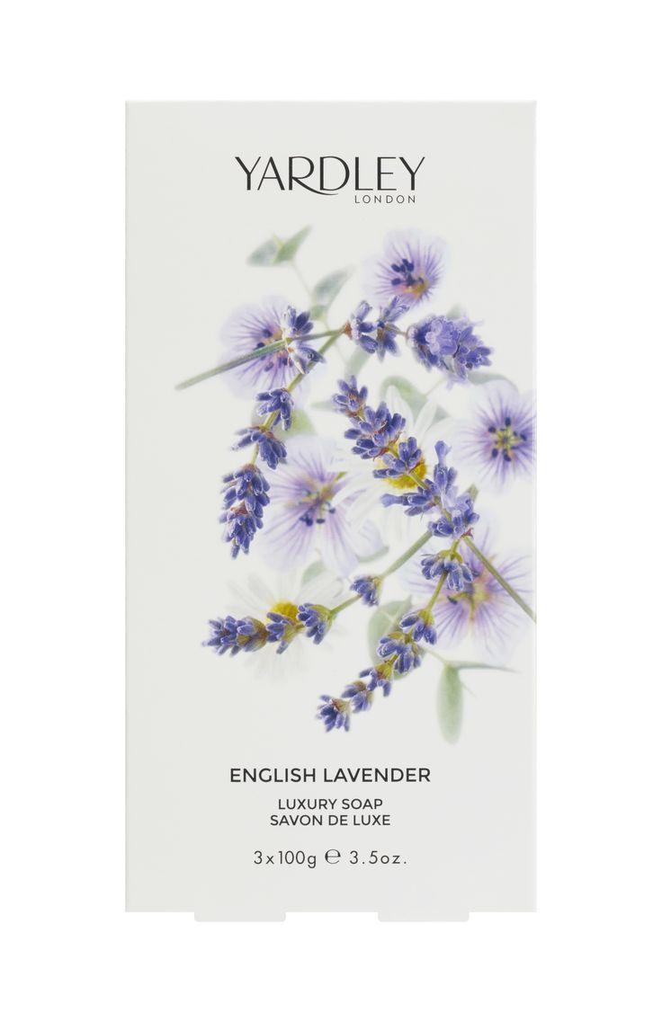 3 Σαπούνια, 100gr το ένα, English Lavender Yardley