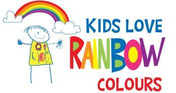 Kids Love Rainbow Colours