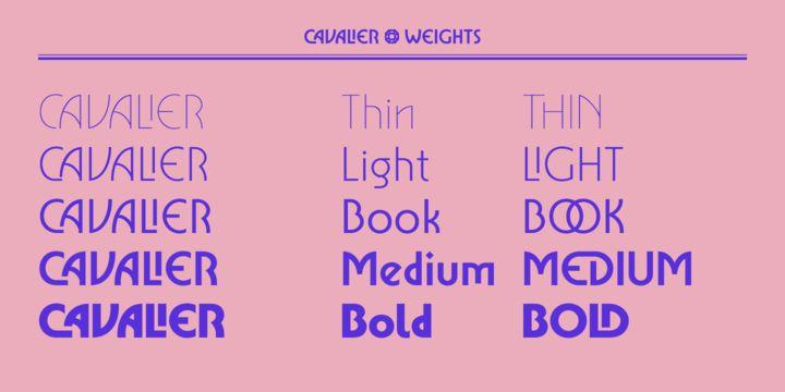 Cavalier - Webfont & Desktop font « MyFonts