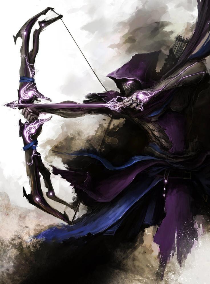 High fantasy styleAvengers -Hawk Eye