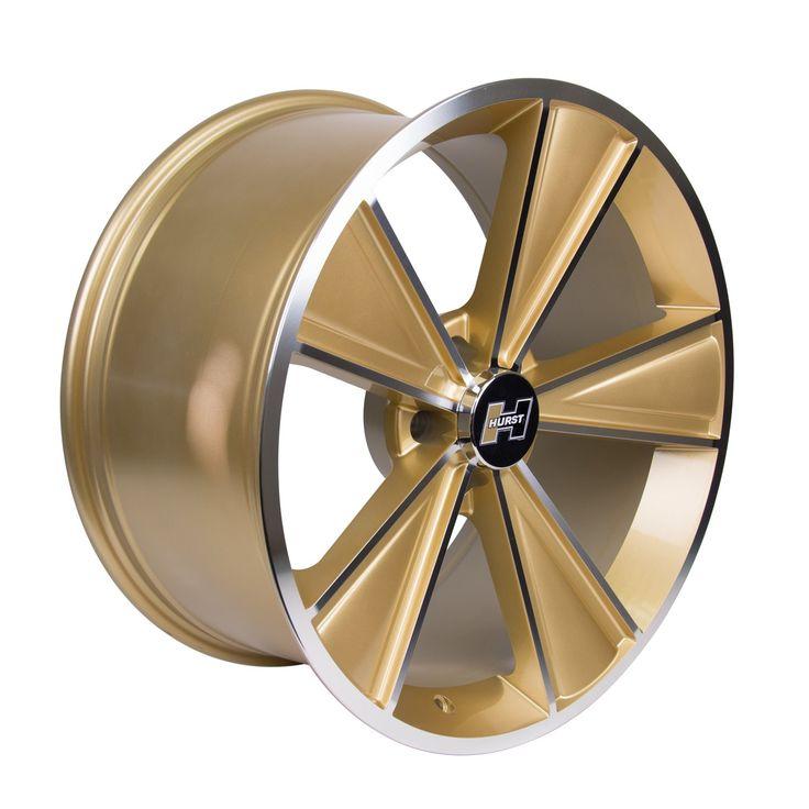 Challenger dazzler hurst wheels gold wheels gold bolt