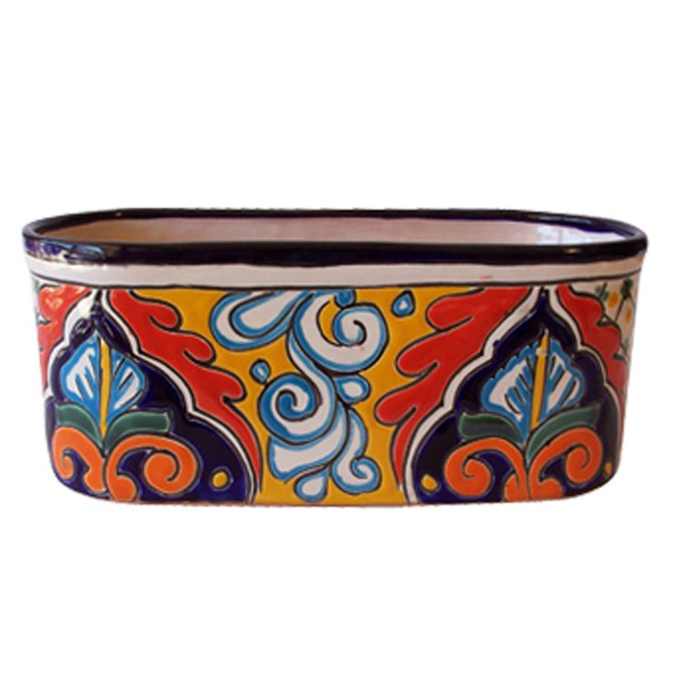 Mexican+Clay+Pots | Beauty Mexican Pottery Design For Garden Accessories,  Pots By