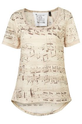 Music shirt. I think it'd be hilarious for me to wear this as seeing I'm Deaf...