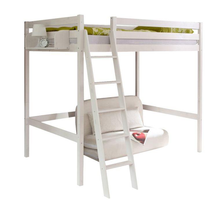 die besten 25 hochbett doppelbett ideen auf pinterest loft betten kinder im hochbett und. Black Bedroom Furniture Sets. Home Design Ideas