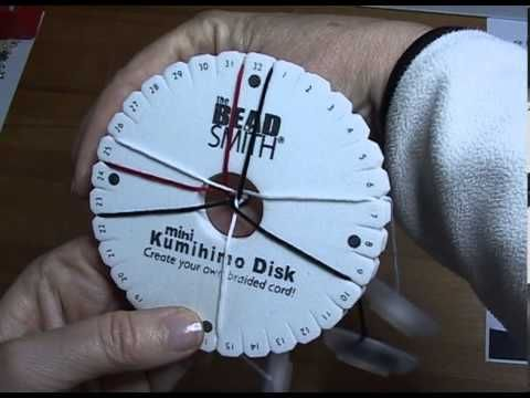 ▶ tutorial tecnica Kumihimo - YouTube