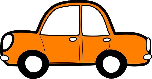 Бесплатное изображение на Pixabay - Автомобиль, Оранжевый