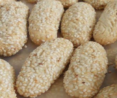 My Mom Bakes These Italian Sesame Seed Cookies…