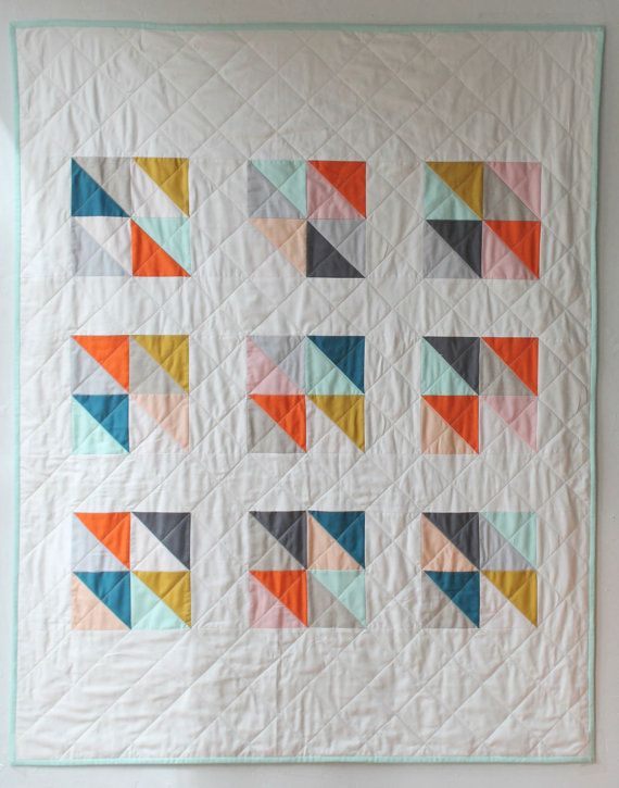 The 25+ best Modern baby quilts ideas on Pinterest | Baby quilt ... : modern baby quilt patterns - Adamdwight.com